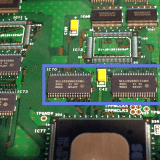 Model3のPolygon Memory(IC70,IC71)を探す